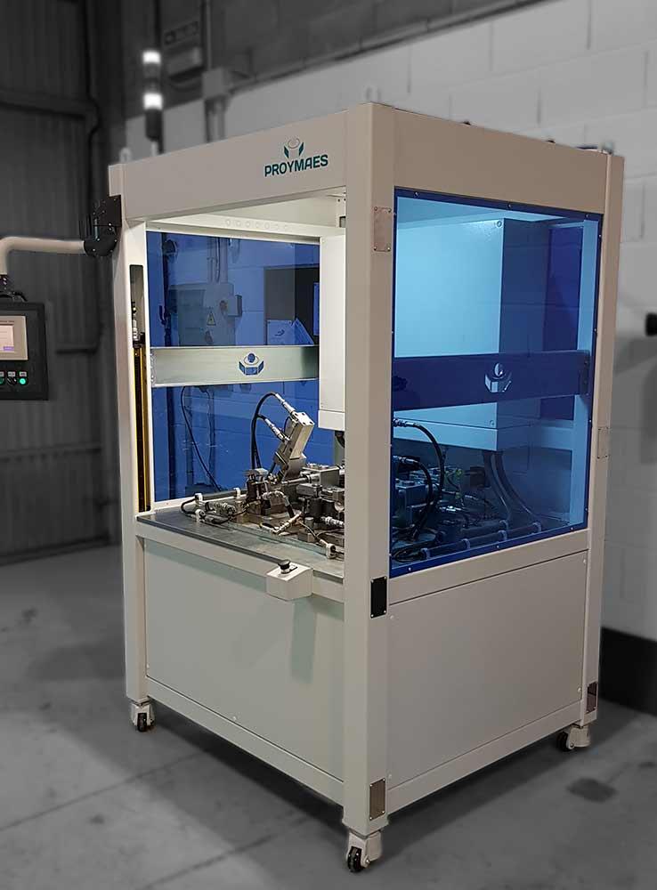 fabricacion maquinas especiales para montaje tubos agua